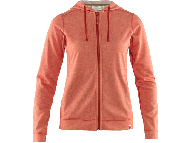 Fjällräven High Coast Lite Hoodie Women rowan red